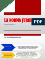 CLASIFICACION DE LAS NORMAS JURIDICAS.pdf