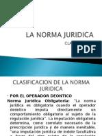Clasificacion de Las Normas Juridicas
