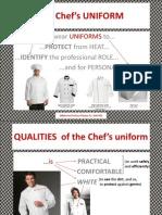 the chefs uniform