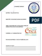 Funciones de La Etica