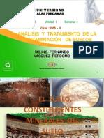Semana 01 El Suelo Constituyentes Minerales Del Suelo