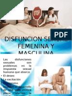 Disfuncion Sexual Femenina y Masculina