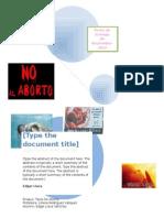 Ensayos de Tipos de Aborto