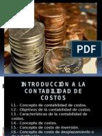 Introducción a la contabilidad de costos