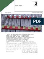 8 Rod Portatble Dryer