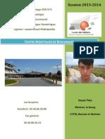 Rapport de stage Ecrit SEN N°4 informatique