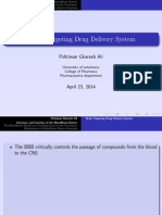 Cns Drug Delivery System by Pharmaceutics Means