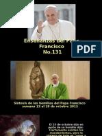 Enseñanzas Del Papa Francisco - Nº 131