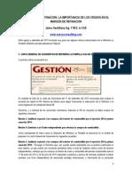 Economia de Refinacion Setiembre 2015 en Peru