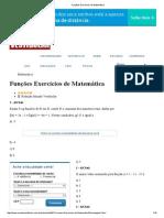 Funções Exercícios de Matemática.pdf