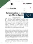Los Estados Latinoamericanos Ante Los Pueblos Indígenas