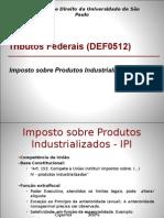 Apresentação - Imposto Sobre Produtos Industrializados
