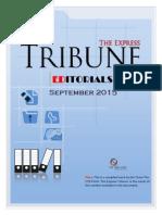 Express Tribune Editorials - September 2015