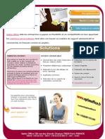 Brochure Optim Office (Marketing Internet | Actions Co. | Télé-secrétariat)