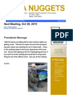Northern Utah Prospectors Newsletter