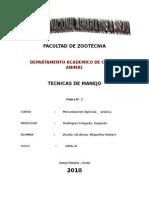 2º Informe Tecnicas de Manejo