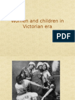 Women and Children in Victorian Era
