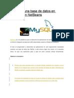 Conectar Una Base de Datos en MySQL Con NetBeans