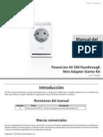 Power Line DHP-P309AV C1 Manual v1.00(ES)