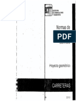 Normas Proyecto Geometrico