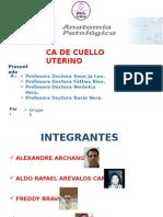 Anatomia Patologica CA Cuello Uterino 2015