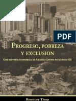 Progreso, Pobreza y Exclusión