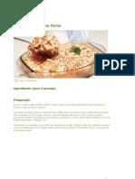 Pasta Com Atum No Forno
