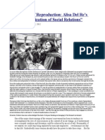 The Terrain of Reproduction Alisa , Del Re's the Sexualization of Social Relations