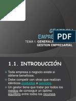 UNTECS - Gestion Empresarial - Sem 1