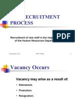 Yr 10 Bus Comms Recruitment Process