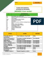 Listagem Bibliográfica UNIDADE 5 Fisica