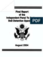 Abu Ghraib Shlesinger Report on DETENTION OPERATIONS