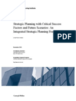 Strategic Planning Ith Critical Succes Factors