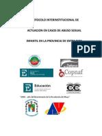 Protocolo Interinstitucional de Actuación en casos de Abuso Sexual Infantil en la Provincia de Entre Ríos