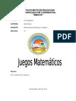 10 Juegos Infantiles Matematicos Imedchi