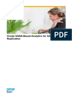 Create HANA-based Analytics for Data Replication