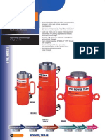 Power Team RD-Series D/A Cylinders - Catalog