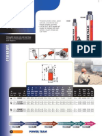 Power Team CBT Series Cylinders - Catalog