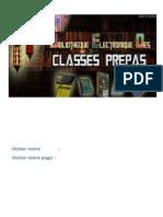 Mécanique Des Fluides 2e Année PC-PC PSI-PSI