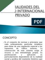 Derecho Internacional Privado - Generalidades