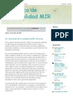En Busca de Especialidad MIR_ Academias