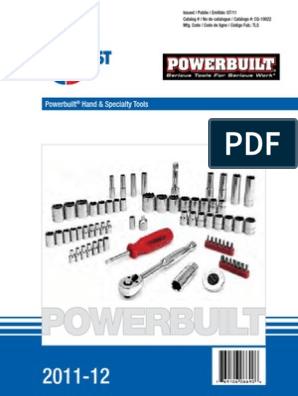 Powerbuilt 13//16-Inch Long Pattern SAE Combination Wrench 640445