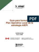 Plan Operativo Local