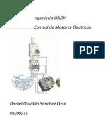 Sistemas de control de motor electrico