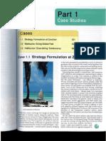 Strategy Formulation at Zanzibar