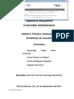 Ecuaciones Diferenciales-ejercicips de Aplicacion