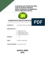 Informe de Jamon de Cerdo y Cuy
