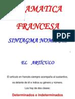 Gramática francesa_Sintagma nominal