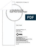 An introduction to small wind turbine project