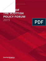 Scottish Labour Policy Document 2015